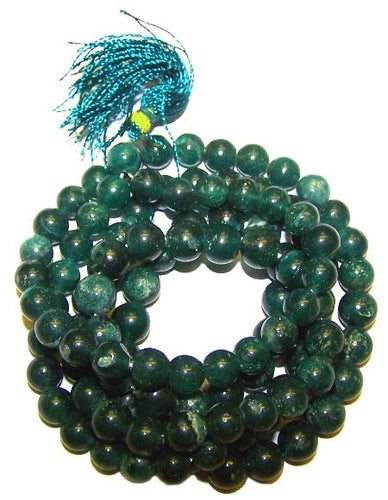 Copy of 108 Gemstone Mala Beads - Jade Mantra and meditation beads