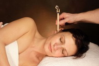 Lavender Ear Candles, Protector Disc & Leaflet x 2