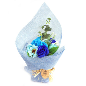 Standing Soap Flower Bouquet - Various Colours