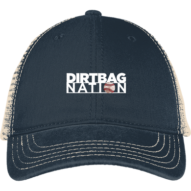 DirtBag Nation Embroidered Mesh Back Cap