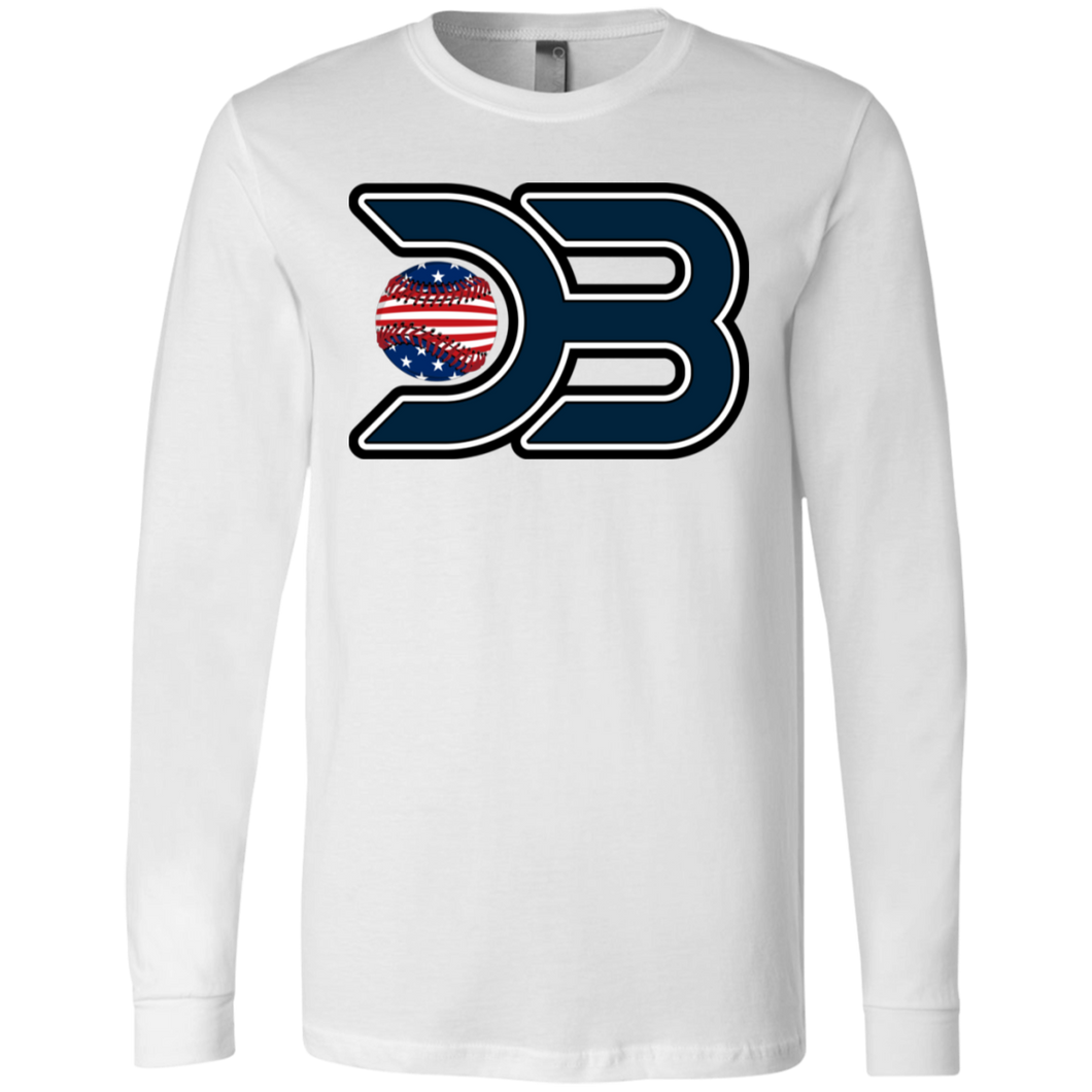 DB USA Men's Jersey LS T-Shirt