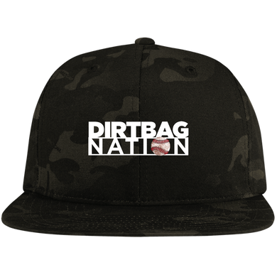 DirtBag Nation CLassic Logo High-Profile Snapback Hat
