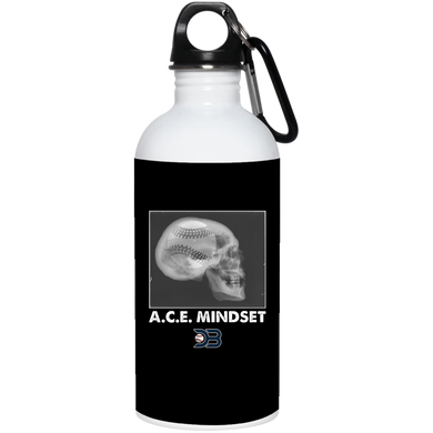 A.C.E. Mindset 20 oz. Stainless Steel Water Bottle