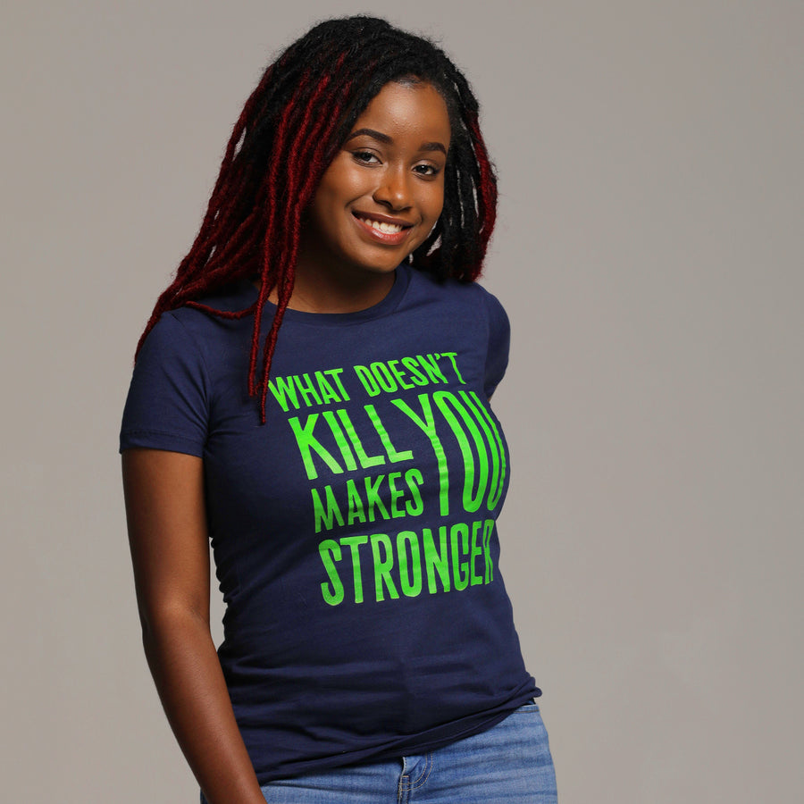 What Doesn't Kill You Makes You Stronger Vintage Tee - WayneAnthony