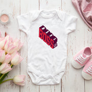 Unisex Boss Up Baby Onesie - WayneAnthony