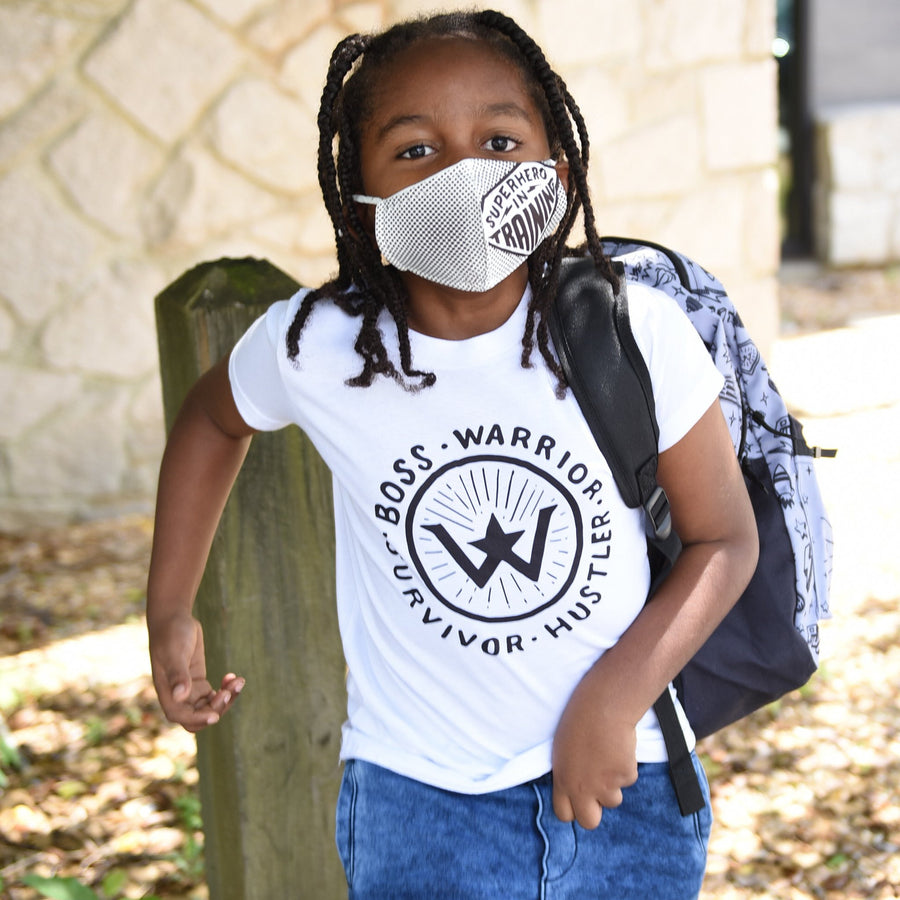 Superhero In Training Breathable Kids Face Mask (REUSABLE) - WayneAnthony