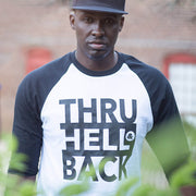 Thru Hell & Back Raglan Tee - WayneAnthony