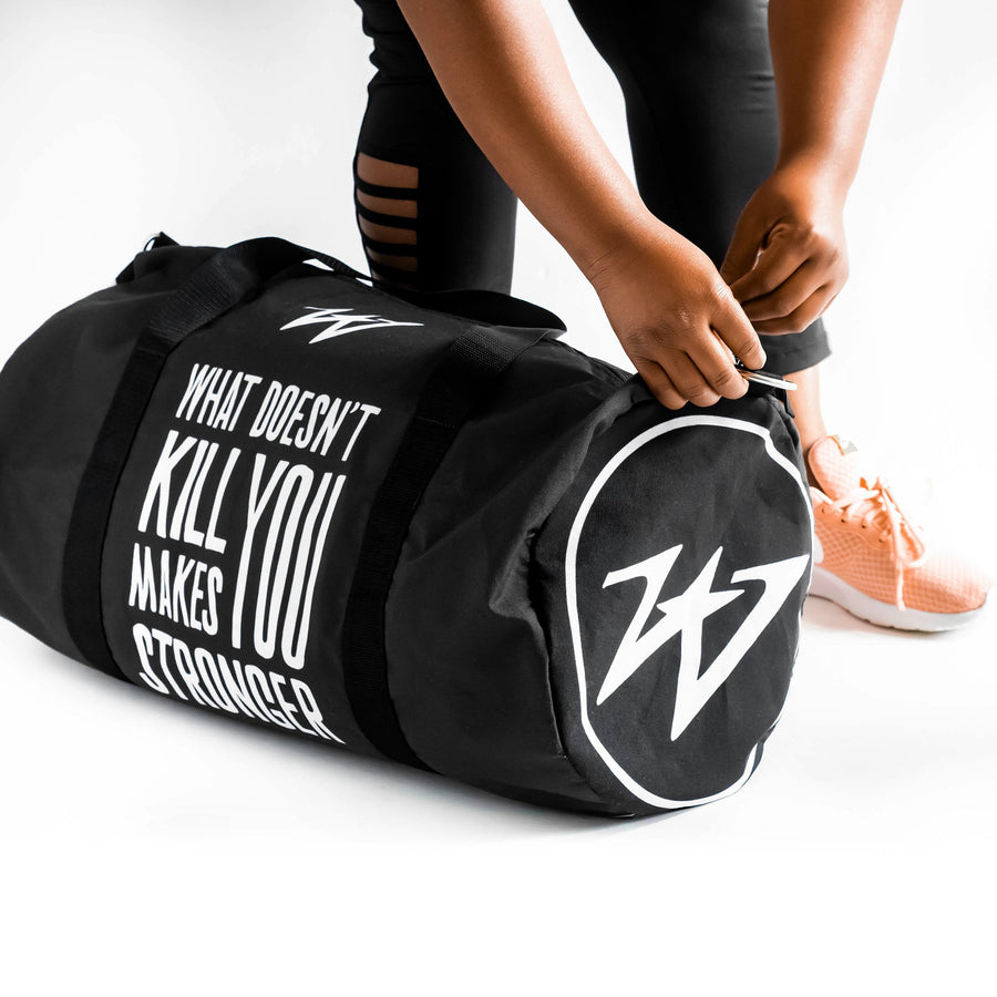 Unisex What Doesn't Kill You Makes You Stronger Duffle Bag - WayneAnthony