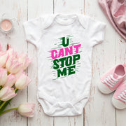 Unisex You Can't Stop Me Baby Onesie - WayneAnthony