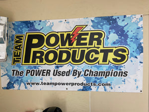 Banner, 6 X 4 Foot Team Power Products