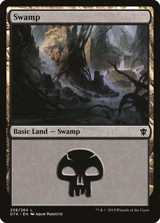 Swamp (258) [Dragons of Tarkir] | Acropolis Games MI