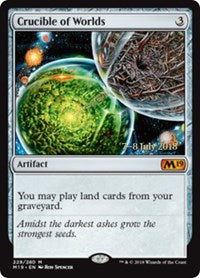 Crucible of Worlds [Core Set 2019 Promos] | Acropolis Games MI