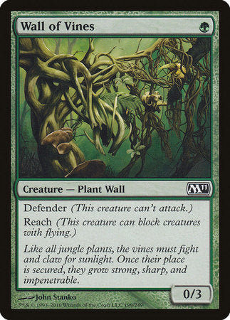 Wall of Vines [Magic 2011] | Acropolis Games MI
