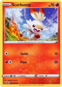 Scorbunny (031) (031/202) [SWSH01: Sword & Shield Base Set] | Acropolis Games MI