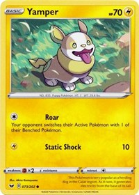 Yamper (073) (073/202) [SWSH01: Sword & Shield Base Set] | Acropolis Games MI
