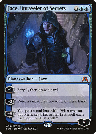 Jace, Unraveler of Secrets [Shadows over Innistrad] | Acropolis Games MI