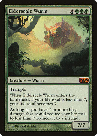 Elderscale Wurm [Magic 2013] | Acropolis Games MI