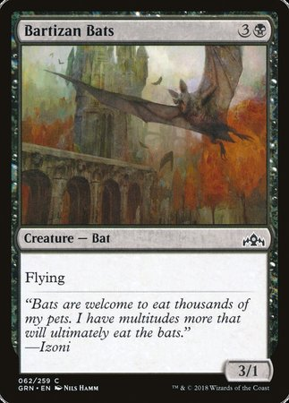 Bartizan Bats [Guilds of Ravnica] | Acropolis Games MI