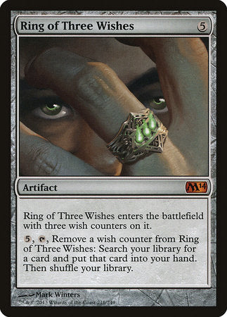 Ring of Three Wishes [Magic 2014] | Acropolis Games MI