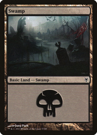 Swamp (37) [Duel Decks: Sorin vs. Tibalt] | Acropolis Games MI