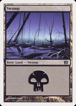 Swamp (340) [Eighth Edition] | Acropolis Games MI