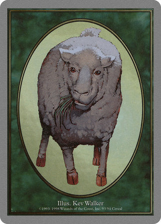 Sheep Token [Unglued Tokens] | Acropolis Games MI