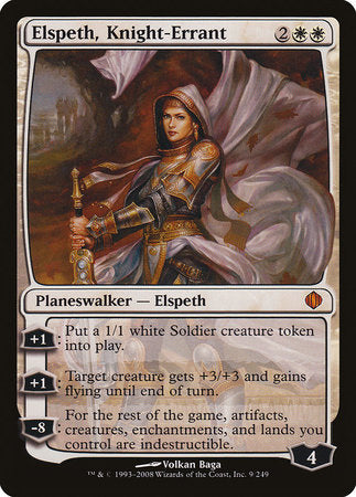 Elspeth, Knight-Errant [Shards of Alara] | Acropolis Games MI