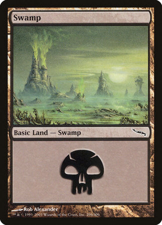 Swamp (296) [Mirrodin] | Acropolis Games MI