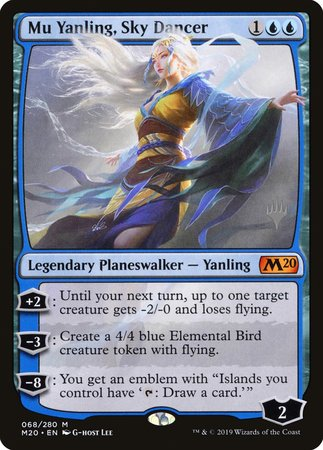 Mu Yanling, Sky Dancer [Core Set 2020 Promos] | Acropolis Games MI