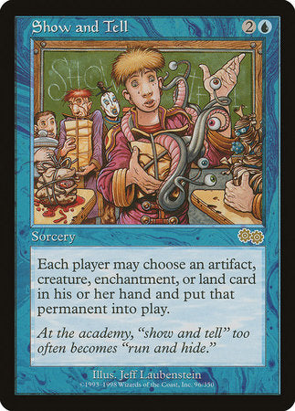 Show and Tell [Urza's Saga] | Acropolis Games MI