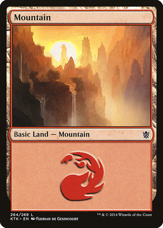 Mountain (264) [Khans of Tarkir] | Acropolis Games MI