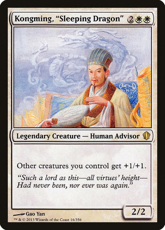 "Kongming, ""Sleeping Dragon"" [Commander 2013] 