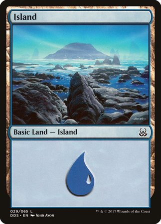 Island (29) [Duel Decks: Mind vs. Might] | Acropolis Games MI