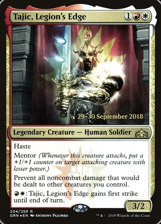 Tajic, Legion's Edge [Guilds of Ravnica Promos] | Acropolis Games MI