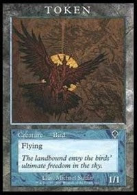 Bird Token (Invasion) [Magic Player Rewards 2001] | Acropolis Games MI