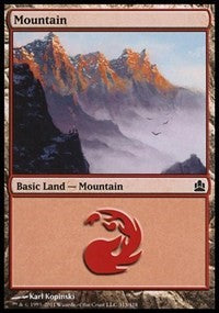 Mountain (313) [Commander 2011] | Acropolis Games MI
