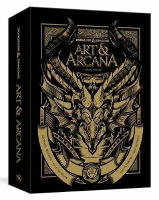 Dungeons and Dragons Art and Arcana: Special Edition, Boxed Book and Ephemera Set : A Visual History | Acropolis Games MI