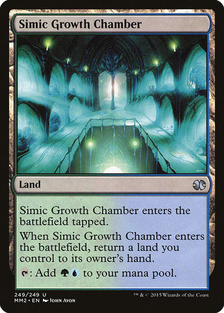 Simic Growth Chamber [Modern Masters 2015] | Acropolis Games MI