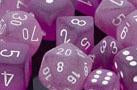 Chessex: D6 Frosted™ Dice Set - 12mm | Acropolis Games MI