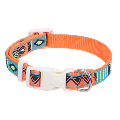 Pet Glam Aztec-Puppy-Collar-Collar for Puppies (Assorted Colours)