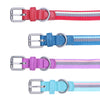 Canva-Dog Collar Leash Set-Adjustable Buckles