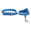 Pet Glam Canva-Dog Collar Leash Set-Adjustable Buckles for Small-Medium & Large Dog Breeds