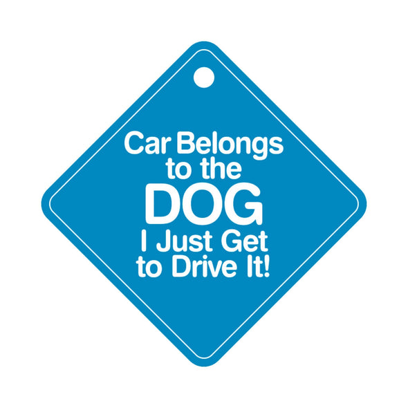 Dog on board- car signs-pet glam-gifts for dogs and cat lovers-dog birthday gift
