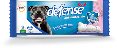 Defense-Anit Bacterial Dental Care Dog Chew Treats-1 Pc
