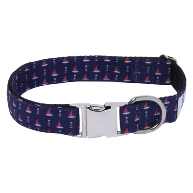 Dog Collar Hudson Bay-Core Collar-Heavy Duty-Rustproof Adjustable Metal Buckles for Small-Medium-Large Breeds
