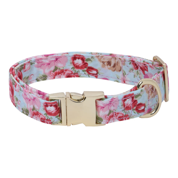 Eden Garden-Venice-Pink-Dog Collar for Small-Medium Dogs