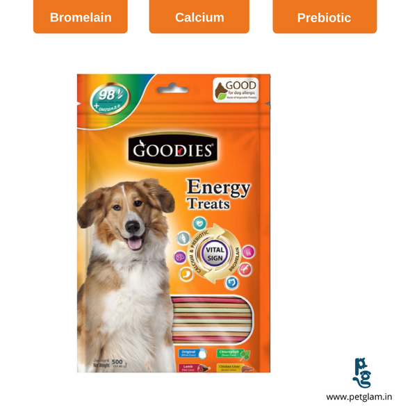 Goodies Energy Treat-Mix Sticks 125 Gms Dog Treats & Chew Sticks