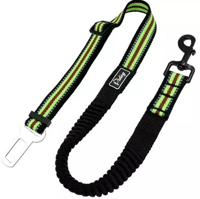 Dog Car Seat Belt- Safety for Dogs-Bungee Leash Dog Restraint