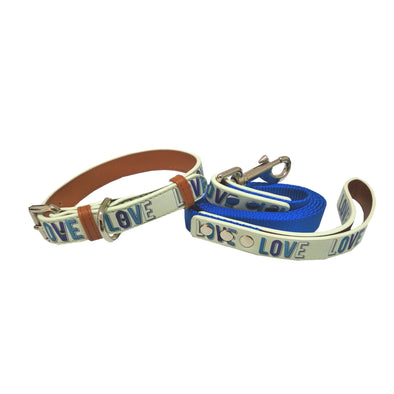 Liberty-Dog Collar Leash Set-Pet Glam-Limited Edition Dog Collars-Stylish Collars for dogs-premium dog collars and leashes-best dog collar brand india