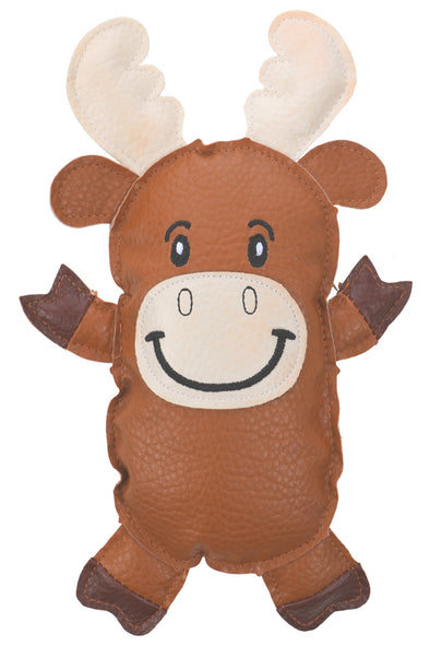 Mr.Moose-Brown-Squeaky Toy for Puppy Dog Cat Kitten